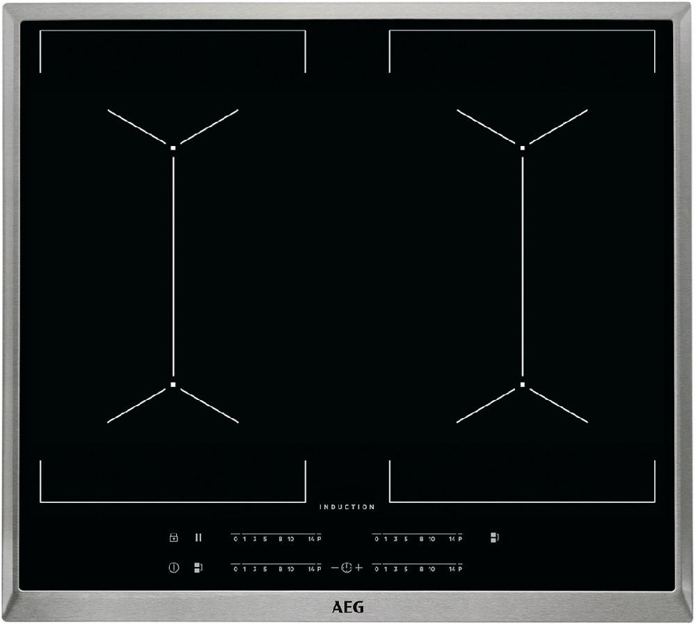 aeg 60 cm induktions backofenset 15 1599 k chen busch k chen busch. Black Bedroom Furniture Sets. Home Design Ideas